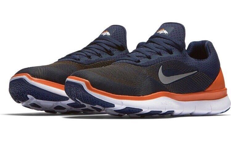 Nike uomini denver broncos libera, allenatore scarpe di football v7 scarpe scarpe allenatore taglia 12 5ecbce