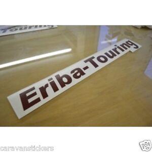 style 1 Eriba touring caravane nom autocollant décalque graphique-unique
