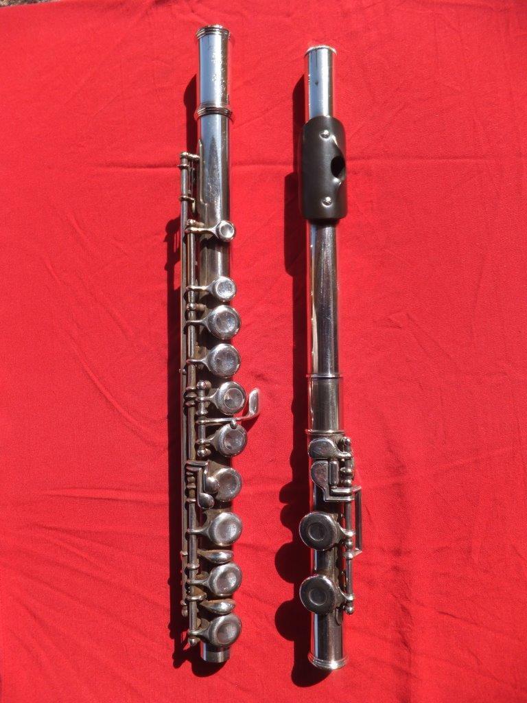 KOHLERTA offen G versilberte Querflöte Flöte flute flauta flauto