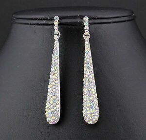 AB-WHITE-AUSTRIAN-CRYSTAL-RHINESTONE-DROP-CHANDELIER-DANGLE-EARRINGS-E2094AB