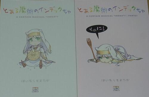 Kiyotaka Haimura A Certain Magical Index Designer/'s Fan Doujinshi 2 Set