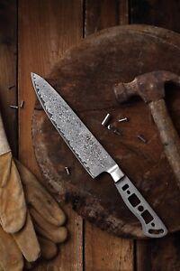 KATSURA Japanese Damascus AUS 10 woodworker Gyuto Chef knife blanks