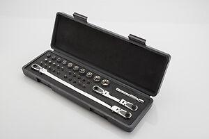 E-Z Red 412Ss Quarter Stick Bit Socket Set