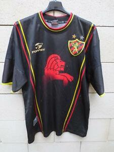 VINTAGE Maillot RECIFE n°10 TOPPER camiseta Brasil shirt rare L Brésil