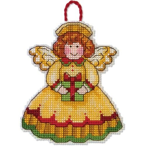 Counted Cross Stitch Kit ANGEL ORNAMENT Susan Winget