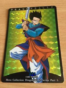 Carte-Dragon-Ball-Z-DBZ-Hero-Collection-Part-3-321-Prisme-1995-MADE-IN-JAPAN