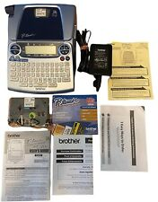 P Touch Brother Pt 1880 Electronic Labeling System Withadapter Tape Manual Read