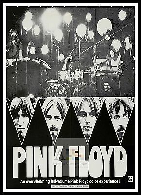 Pink Floyd Live At Pompeii 2   Rock /& Roll Movie Posters Classic /& Vintage Films