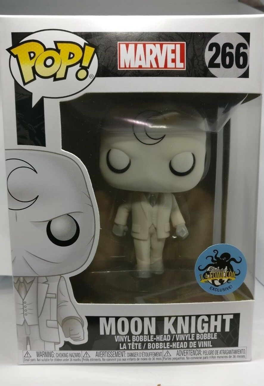 Funko POP  266 Moon KNight Stan Lee Comic Con Exclusive