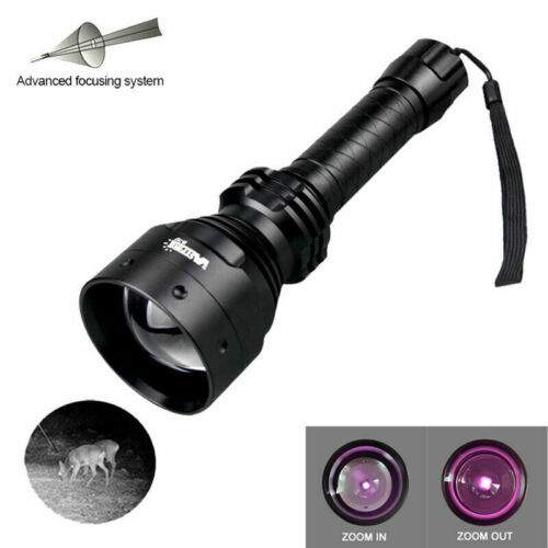 Details about  /Infrared Flashlight IR 850nm 940nm Zoomable T67 LED Hunting Night Vision Torch