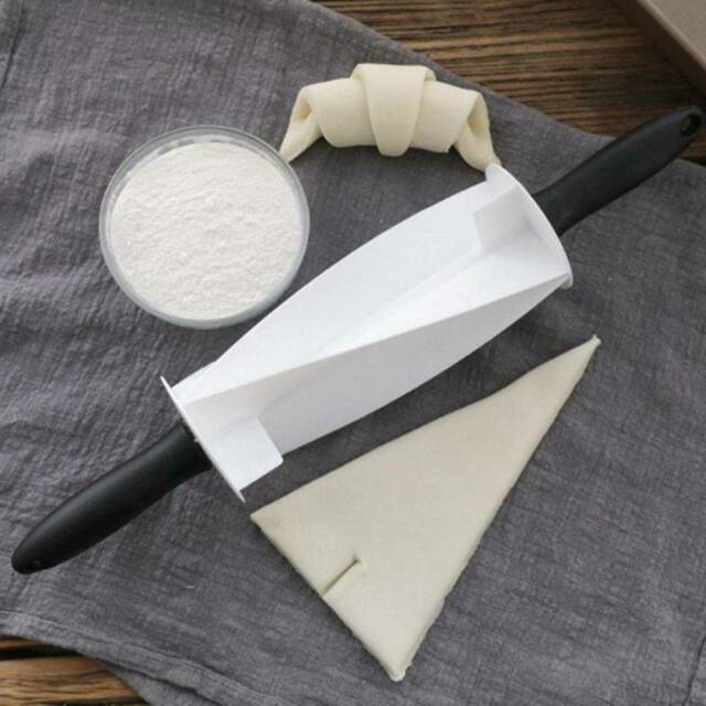 Rolling Cutter for Making Croissant Bread Dough Pastry Cutter baking Kitchen