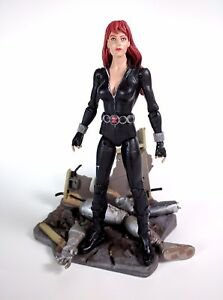 Details About Marvel Select Black Widow Action Figure Avengers Natasha Romanoff Diamond Loose