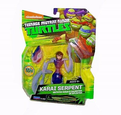 TEENAGE MUTANT NINJA TURTLES KARIA SERPENT MUTATED NINJA /& DAUGHTER OF SPLINTER