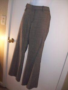 Women-039-s-Banana-Republic-Ryan-Fit-Wool-warm-dress-pants-12P-12-Petite-10-short