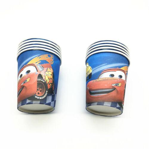 Disney Cars McQueen Birthday Party Bag Supplies Loot Filler Tableware Plates