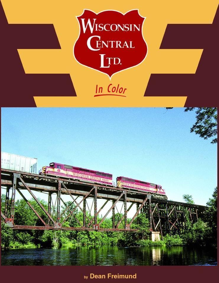 Wisconsin Central Ltd en Color -- (libro Nuevo)