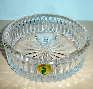Waterford-Crystal-Heritage-Wine-Bottle-Coaster-159842-New-In-Box