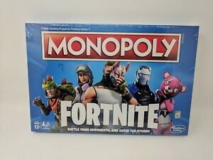 Fortnite Monopoly Board Game Limited Edition New Fornite