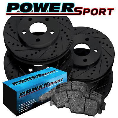 200 Front  Drill Slot Brake Rotors+Ceramic Brake Pads Chrysler Dart Fit Dodge