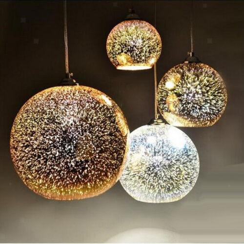 3D farbiges Glas hängende Lichter hängender Lampenschirm Deckenleuchte