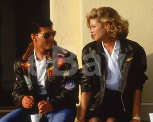 Top-Gun-1986-Tom-Cruise-Kelly-McGillis-10x8-Photo