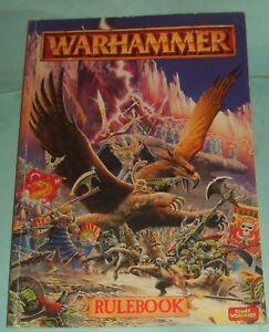 2019 DernièRe Conception Games Workshop Warhammer Livret Par Rick Priestley.-afficher Le Titre D'origine