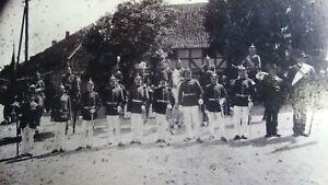 Grosses-CAB-Foto-Gruppenbild-Soldaten-mit-Pickelhaube-Husar-1900er