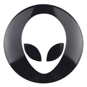 4x-Alien-Felgenaufkleber-3D-Auto-Ausserirdischer-Radnabe-Nabendeckel-Radkappen
