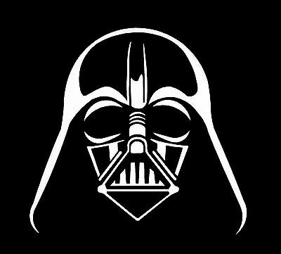 DARTH VADER Star Wars Jedi Sith Vinyl Decal - for car, laptop, whatever!
