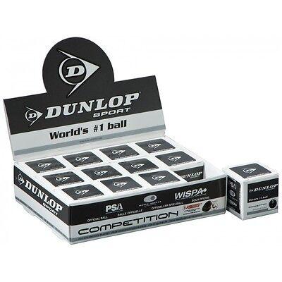 12 Dunlop Pro Double point jaune balles de squash rrp £ 47.99 Pack Doz plus bas prix!