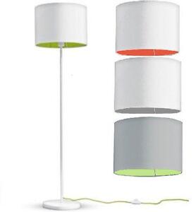 Stehleuchte-mit-Textilschirm-LED-Lampe-Licht-1-45m-Warmweiss-Standleuchte-B-Ware