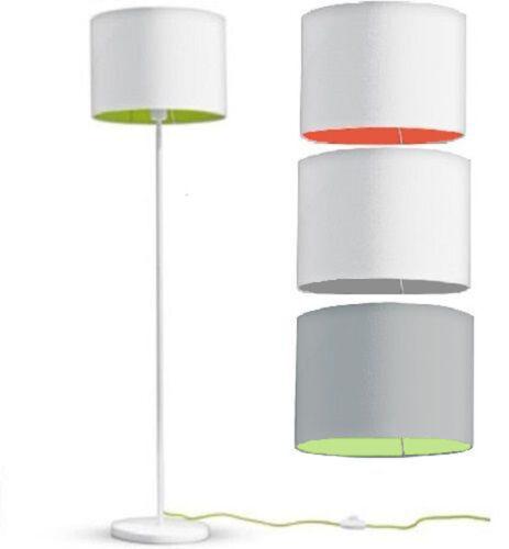 Stehleuchte Mit Textilschirm Led Lampe Licht 1 45m Warmweiss