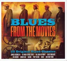 BLUES FROM THE MOVIES - 52 ORIGINAL BLUES CLASSIC (NEW SEALED 3CD)