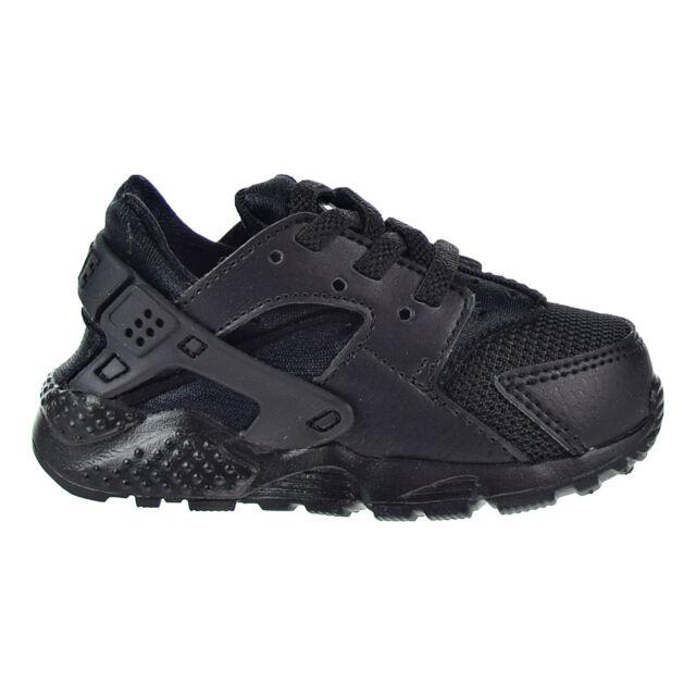 Nike Huarache Run Toddler Triple Black Sneaker Size 7c