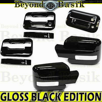 W//O KP W//O PSK 2DR + Mirror 2004-2008 F150 Chrome Door Handle Tailgate COVERS