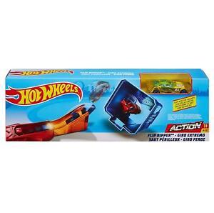 HOT-WHEELS-FLIP-Ripper-Action-Set-Mattel-contiene-Secchio-amp-1-auto-eta-4-10-anni
