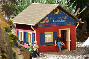 Piko G Scale 62725 Joe's shoes Repair Built-Up Building (G-Scale)
