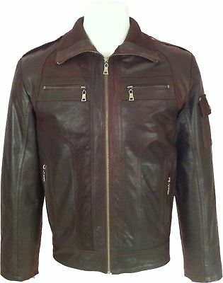 UNICORN Mens 100/% Real Leather Pilot Aviator Airforce Jacket  /'All sizes/':N4