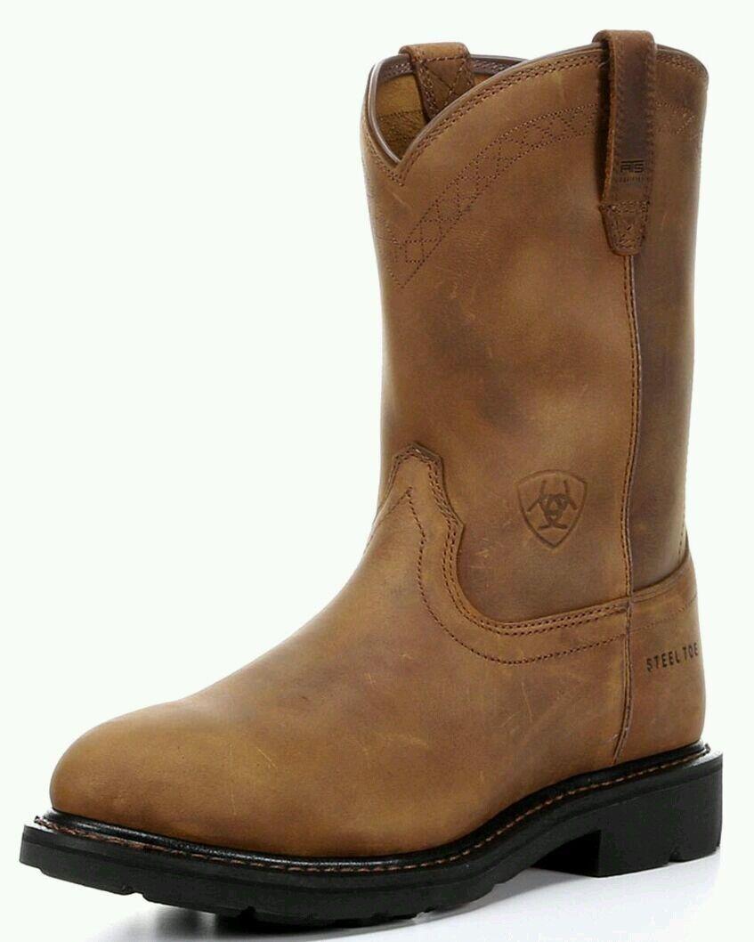Men's Ariat Sierra Steel Toe Boots Style 10002449 (37627)