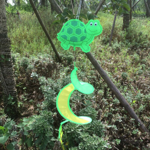 Colorful Animal Spiral Windmill Wind Spinner Lawn Garden Yard Outdoor Decor New