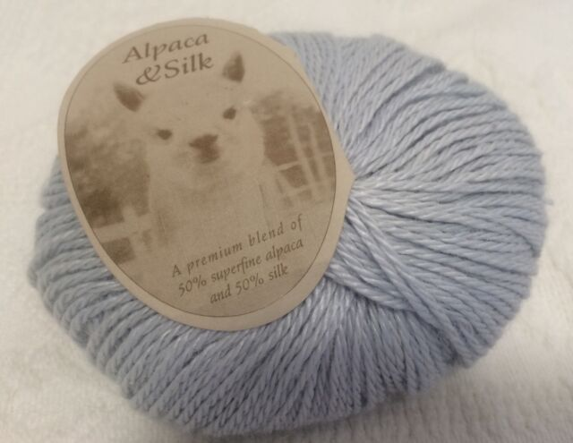 1 Skein (up To 4 Available) Blue Sky Alpaca Silk Yarn