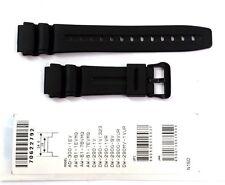 CASIO ORIGINAL WATCH BAND: 70622792  DW-290 AW-61 AD-300  Black Resin Band
