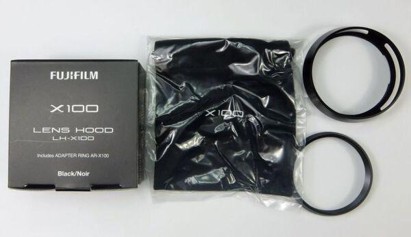 Fujifilm Lh-x100 Paresoleil Noir + Bague Adaptation X100, S, T, F Le Prix Reste Stable