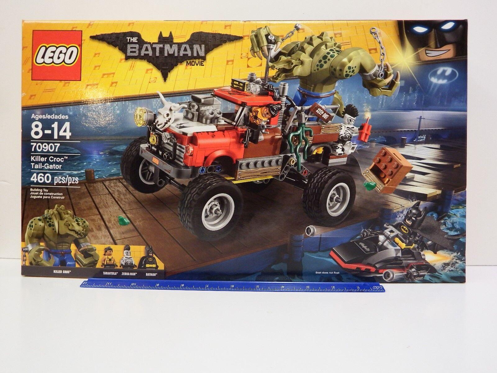 LEGO The BATMAN Movie 70907 Killer Croc Tail-Gator 460 pc set Age 8-14Y (DENTED)
