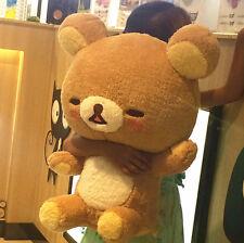 "Jumbo Rilakkuma Shy SAN-X Plush Doll Stuffed Toy Bear Male 20"" Rare Gift"