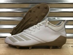 7dfbe01c4362 Adidas Adizero 5-Star 7.0 Low Sundays Best Football Cleats White SZ ...