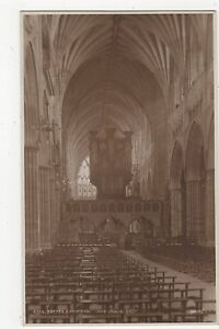 Exeter Cathedral Nave Looking East Judges 4324 Postcard A988 - Malvern, United Kingdom - Exeter Cathedral Nave Looking East Judges 4324 Postcard A988 - Malvern, United Kingdom