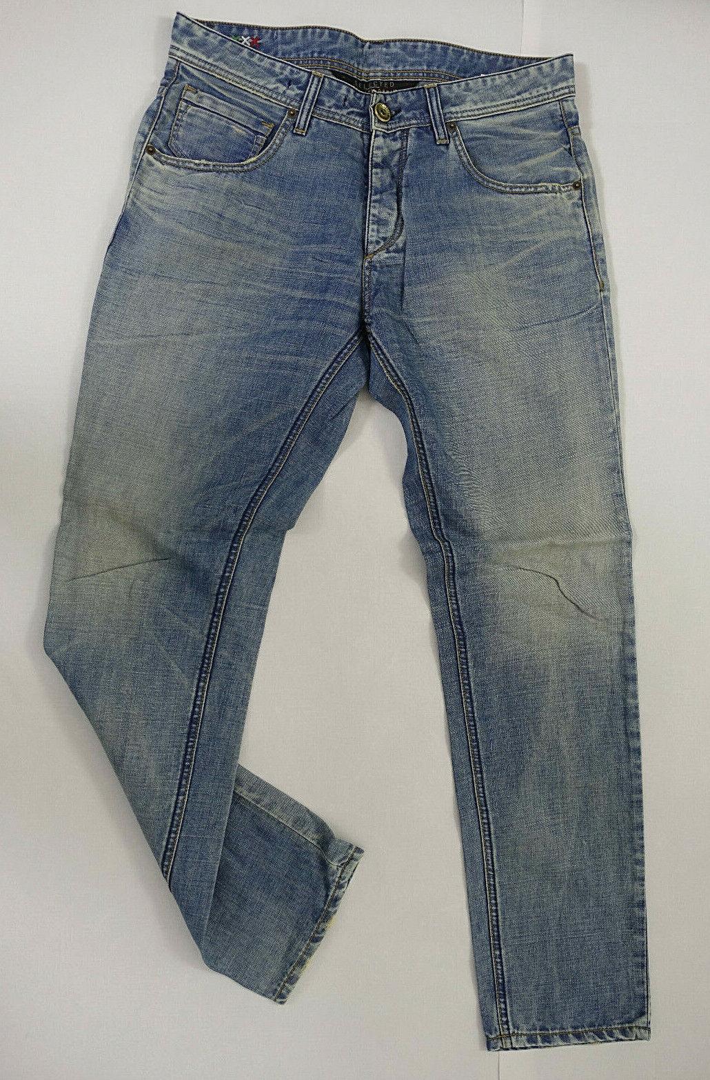 NEU - SELECTED Premium Denim Herren Jeans W32 L32 Style Oscar Regular Carrot Fit    Clever und praktisch