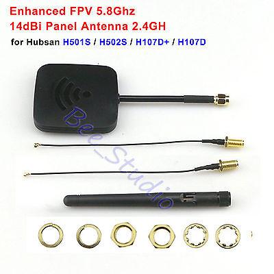 Hubsan H501S Transmitter Extended 5.8G 14dBi Panel Antenne 2.4GHz 3dBi Antenne