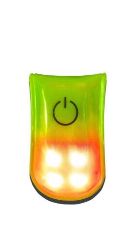 Portwest HV07 collegabile Hi Vis Sicurezza magnetica LED Lampeggiante Abbigliamento Indumento